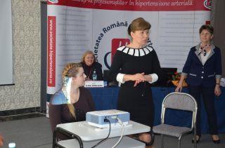 Cadrele medicale, fata in fata cu pacientii hipertensivi la COMBAT 2 Asist de la Craiova