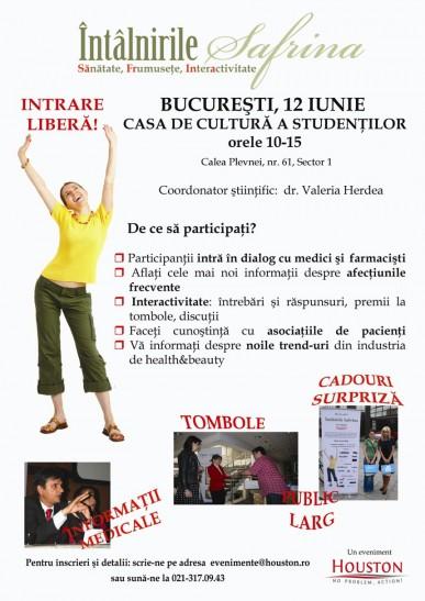 Conferina SaFrIna, Bucuresti 16 iunie 2010