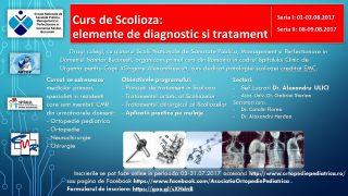 Curs de scolioza: elemente de diagnostic si tratament