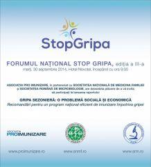 Gripa - intre preventie si boala in sezonul 2014-2015