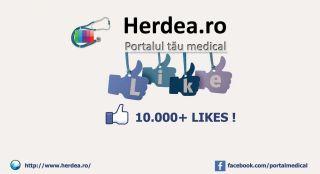 Peste 10.000 de fani pe pagina de Facebook!