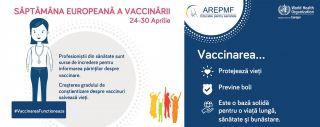 Saptamana Europeana a Vaccinarii 24-30 aprilie