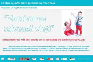 Vaccinarea salveaza vieti - Vaccinarea un drept fundamental la sanatate