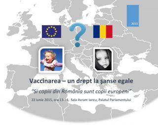 Vaccinarea - sanse egale pentru sanatate