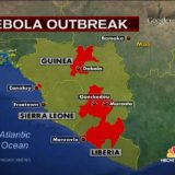 Virusul Ebola: epidemia la un avion distanta