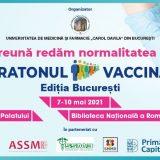 Vino si tu la Maratonul Vaccinarii - Bucuresti, 7-10 mai 2021